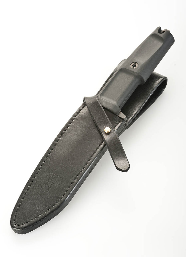 Schwarze Messerscheide